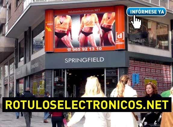 venta de pantallas led