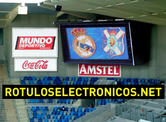 video marcador para fútbol